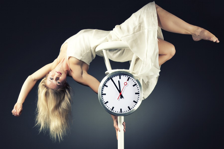 Pole-Dance-Artistin