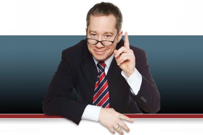Comedyredner Dr. Jens Wegmann